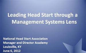 Head Start Management Systems