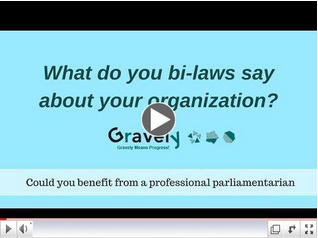 Creating an Effective Board is all in the Bylaws (VIDEO)